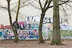 Wall with graffiti, Berlin. Stock Photo - Premium Rights-Managed, Artist: Arcaid, Code: 845-03720647