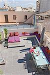 Mallorca Palma penthouse renovation, terrace Stock Photo - Premium Rights-Managed, Artist: Arcaid, Code: 845-03720846