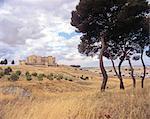 Castilla-la Mancha, Belmonte, castle.