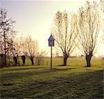 Gelderland, pigeon-house in a garden near Nijkerk.