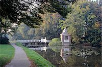 Netherlands, Utrecht, autumn in park around Slot Zeist Stock Photo - Premium Rights-Managednull, Code: 845-03721003