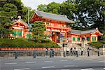 The entrance to Yasaka shrine in Gion, Kyoto, Japan Stock Photo - Premium Rights-Managed, Artist: Arcaid, Code: 845-03721028