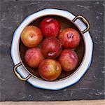 Plums Stock Photo - Premium Rights-Managed, Artist: foodanddrinkphotos, Code: 824-03722637