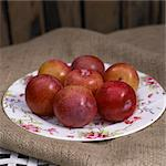 Plums Stock Photo - Premium Rights-Managed, Artist: foodanddrinkphotos, Code: 824-03722640