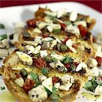 Maltese-style bruschetta Stock Photo - Premium Rights-Managed, Artist: foodanddrinkphotos, Code: 824-03722995
