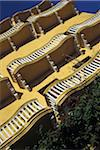 Balconies in Plaza de los Coches, Low Angle View Stock Photo - Premium Rights-Managed, Artist: IIC, Code: 832-03723550