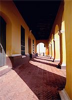 Colonial arcade in Trinidad, Cuba Stock Photo - Premium Rights-Managednull, Code: 832-03723764