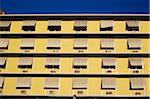 Yellow apartment building, close up Stock Photo - Premium Rights-Managed, Artist: IIC, Code: 832-03724179