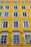 Mozart's Birthplace, exterior Stock Photo - Premium Rights-Managed, Artist: IIC, Code: 832-03724383