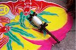 Colourful kite and spool, Close Up Stock Photo - Premium Rights-Managed, Artist: IIC, Code: 832-03724421