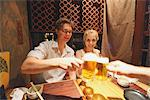 Couple Drinking At Izakaya Stock Photo - Premium Rights-Managed, Artist: Aflo Relax, Code: 859-03730937