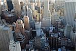 Aerial View of Buildings, New York City, New York, USA Stock Photo - Premium Royalty-Free, Artist: TSUYOI, Code: 600-03732429