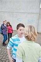 Teenagers Fighting Stock Photo - Premium Royalty-Freenull, Code: 600-03734614