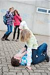 Teenagers Fighting Stock Photo - Premium Royalty-Free, Artist: Uwe Umstätter, Code: 600-03734615