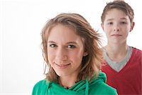 Portrait of Teenagers Stock Photo - Premium Royalty-Freenull, Code: 600-03734617
