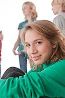 Portrait of Teenager Stock Photo - Premium Royalty-Freenull, Code: 600-03734622