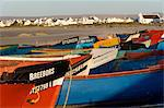 Fishing boats, Paternoster, Western Cape Province, South Africa