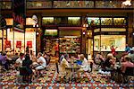 Australia, New South Wales, Sydney. Shoppers at a cafe in the historic Strand Arcade - one of Sydney's top shopping centres. Stock Photo - Premium Rights-Managed, Artist: AWL Images, Code: 862-03736181