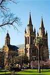 Australia, South Australia, Adelaide.  St Peter's Cathedral in North Adelaide. Stock Photo - Premium Rights-Managed, Artist: AWL Images, Code: 862-03736221