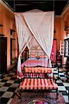 Tanzania, Zanzibar, Stone Town. A bedroom of  236 Hurumzi, in a magnificent historic building in the heart of Stone Town. Stock Photo - Premium Rights-Managed, Artist: AWL Images, Code: 862-03737300