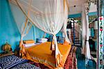 Tanzania, Zanzibar, Stone Town. A bedroom of  236 Hurumzi, in a magnificent historic building in the heart of Stone Town. Stock Photo - Premium Rights-Managed, Artist: AWL Images, Code: 862-03737303