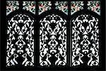 Tanzania, Zanzibar, Stone Town. An ornate window with stained glass at the famous boutique hotel  236 Hurumzi Stock Photo - Premium Rights-Managed, Artist: AWL Images, Code: 862-03737304