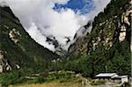 Marsyangdi River Valley, Annapurna Conservation Area, Gandaki Zone, Pashchimanchal, Nepal Stock Photo - Premium Rights-Managed, Artist: Jochen Schlenker, Code: 700-03737557