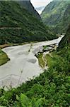 Tal village, Manang District, Marsyangdi River Valley, Annapurna Conservation Area, Gandaki, Pashchimanchal, Nepal Stock Photo - Premium Royalty-Free, Artist: Jochen Schlenker, Code: 600-03737738