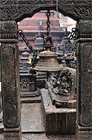 Bell, Swayambhunath, Kathmandu, Bagmati, Madhyamanchal, Nepal Stock Photo - Premium Royalty-Freenull, Code: 600-03737743