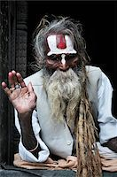 Sadhu, Pashupatinath Temple, Kathmandu, Bagmati, Madhyamanchal, Nepal Stock Photo - Premium Rights-Managednull, Code: 700-03737816
