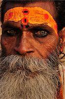 Sadhu, Varanasi, Varanasi District, Uttar Pradesh, India Stock Photo - Premium Rights-Managednull, Code: 700-03737877
