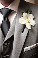 special moment - Close-Up of Boutonniere on Man's Suit Stock Photo - Premium Rights-Managednull, Code: 700-03738513