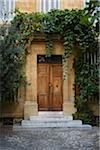 Door, Aix-en-Provence, Bouches-du-Rhone, Provence, France Stock Photo - Premium Rights-Managed, Artist: Puzant Apkarian, Code: 700-03738685