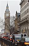 View of Big Ben and Traffic, Westminster, London, England Stock Photo - Premium Rights-Managed, Artist: Matt Brasier, Code: 700-03739011