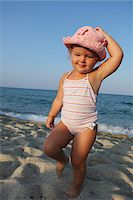 Toddler at Beach Stock Photo - Premium Rights-Managednull, Code: 700-03739286