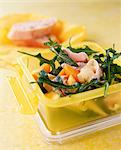 Fruity Coronation chicken salad (packed lunch) Stock Photo - Premium Rights-Managed, Artist: foodanddrinkphotos, Code: 824-03744519