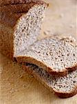 Cut brown bread Stock Photo - Premium Rights-Managed, Artist: foodanddrinkphotos, Code: 824-03744637