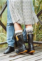 The legs of a couple. Stock Photo - Premium Royalty-Freenull, Code: 6102-03748354