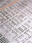 Stock exchange numbers in a newspaper. Stock Photo - Premium Royalty-Free, Artist: Westend61, Code: 6102-03748473