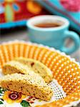 Plate with cookies and a cup in the background. Stock Photo - Premium Royalty-Free, Artist: Klick, Code: 6102-03749758