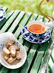Tea in the garden. Stock Photo - Premium Royalty-Free, Artist: Klick, Code: 6102-03750086