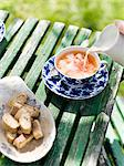 Tea in the garden. Stock Photo - Premium Royalty-Free, Artist: Klick, Code: 6102-03750087