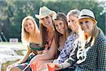 Group of Teenage Girls Stock Photo - Premium Rights-Managed, Artist: Kevin Dodge, Code: 700-03762680