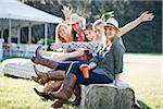 Group of Teenage Girls Being Silly Stock Photo - Premium Rights-Managed, Artist: Kevin Dodge, Code: 700-03762681