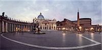 St Peter's Square, Vatican City, Rome, Italy Stock Photo - Premium Rights-Managednull, Code: 700-03766829