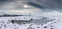 panoramic winter scene - Rannoch Moor in Winter, Scotland Stock Photo - Premium Rights-Managednull, Code: 700-03768722