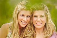 Portrait of mother and grown-up daughter Stock Photo - Premium Royalty-Freenull, Code: 649-03769584