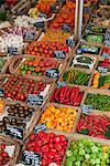 Various vegetables presented on a market Stock Photo - Premium Royalty-Free, Artist: foodanddrinkphotos, Code: 649-03771920