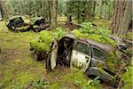 Car Graveyard, Valdes Island, British Columbia, Canada Stock Photo - Premium Rights-Managed, Artist: J. A. Kraulis, Code: 700-03777065