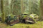 Car Graveyard, Valdes Island, British Columbia, Canada Stock Photo - Premium Rights-Managed, Artist: J. A. Kraulis, Code: 700-03777067